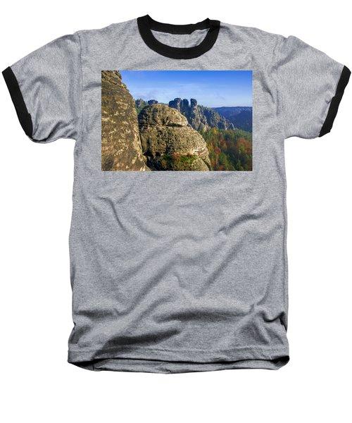 Early Morning On Neurathen Castle Baseball T-Shirt