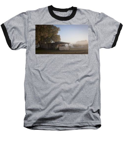 Baseball T-Shirt featuring the photograph Early Morning On The Farm by Lynn Palmer