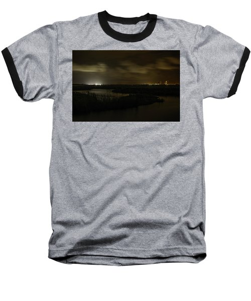 Early Morning Over Lake Shelby Baseball T-Shirt by Michael Thomas