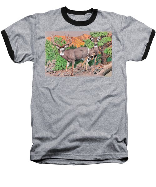 Early Morning Retreat Baseball T-Shirt