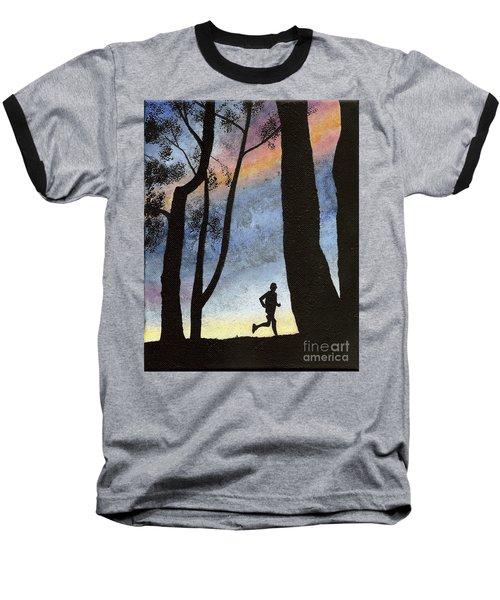 Early Morning Run Baseball T-Shirt