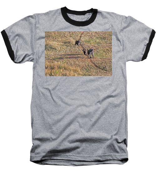 Early Morning Stroll Baseball T-Shirt