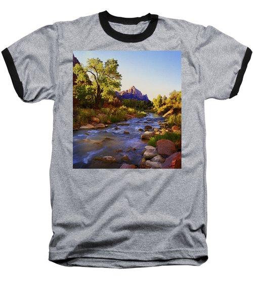 Early Morning Sunrise Zion N.p. Baseball T-Shirt