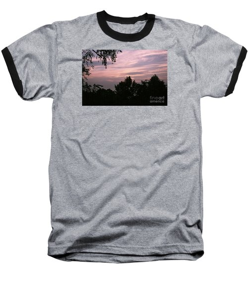 Early Sunrise In Central Illinois Baseball T-Shirt
