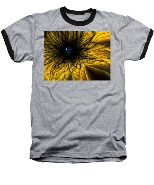 Earth Flower Baseball T-Shirt