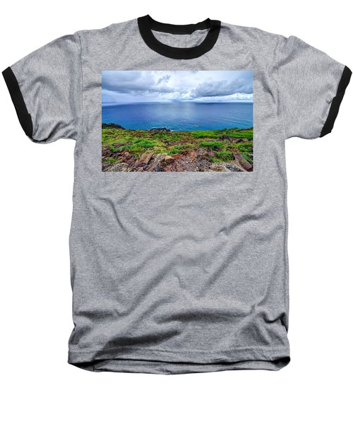 Earth Sea Sky Baseball T-Shirt