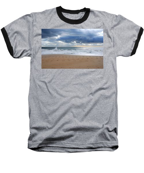 Earth's Layers - Jersey Shore Baseball T-Shirt