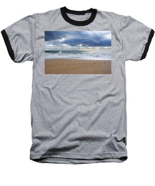 Earth's Layers - Jersey Shore Baseball T-Shirt
