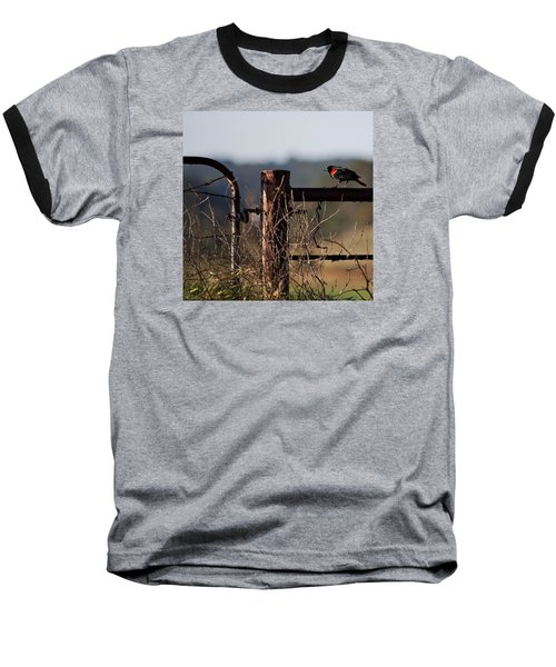 Eary Morning Blackbird Baseball T-Shirt