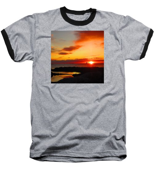 East Coast Sunrise  Baseball T-Shirt