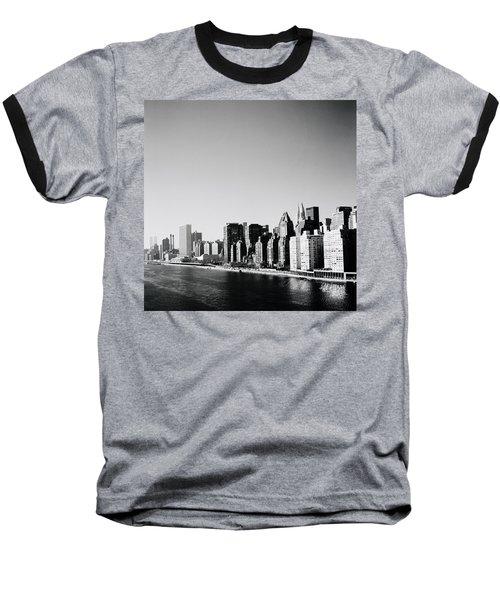 East River New York Baseball T-Shirt