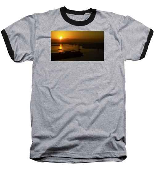 East River Sunrise Baseball T-Shirt