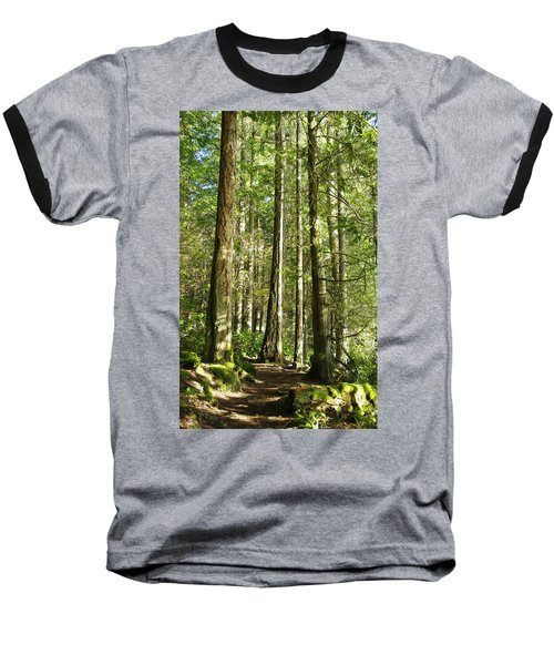 East Sooke Park Trail Baseball T-Shirt