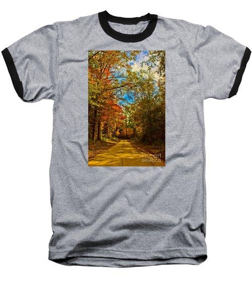 East Texas Back Roads Hdr Baseball T-Shirt