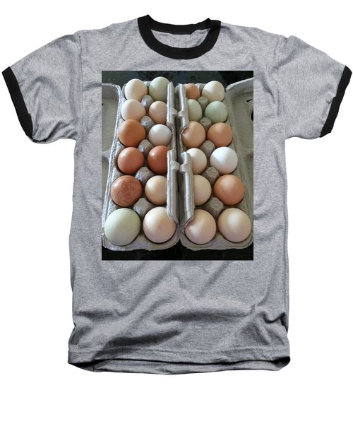 Easter Eggs Au Naturel Baseball T-Shirt