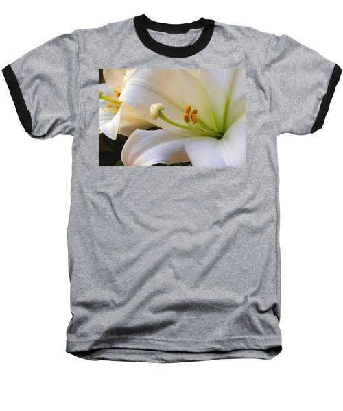 Baseball T-Shirt featuring the photograph Easter Lily by Bonnie Willis