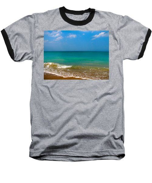Eastern Shore 2 Baseball T-Shirt by Anita Lewis