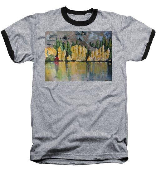 Eastern Sierra Reflections Baseball T-Shirt