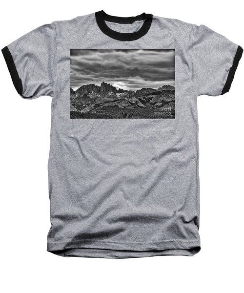 Eastern Sierras Summer Storm Baseball T-Shirt