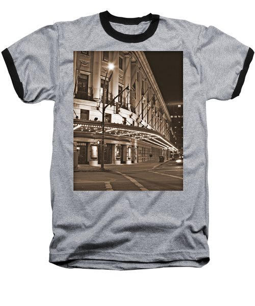 Eastman Theater Baseball T-Shirt by Richard Engelbrecht