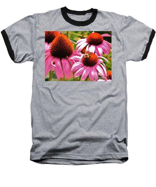 Baseball T-Shirt featuring the photograph Ech 2 by Robin Coaker