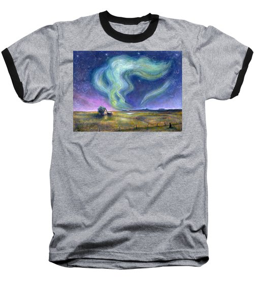 Echoes In The Sky Baseball T-Shirt