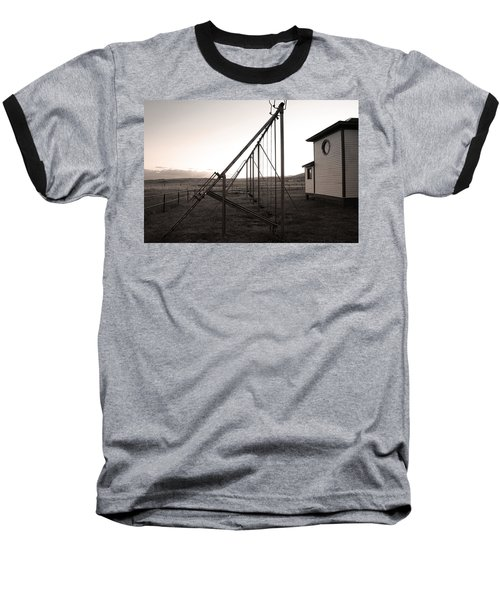 Baseball T-Shirt featuring the photograph Echoes Of Laughter by Jim Garrison