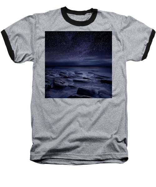 Echoes Of The Unknown Baseball T-Shirt by Jorge Maia