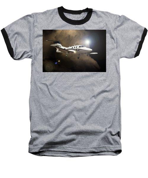 Eclipse Landing Baseball T-Shirt