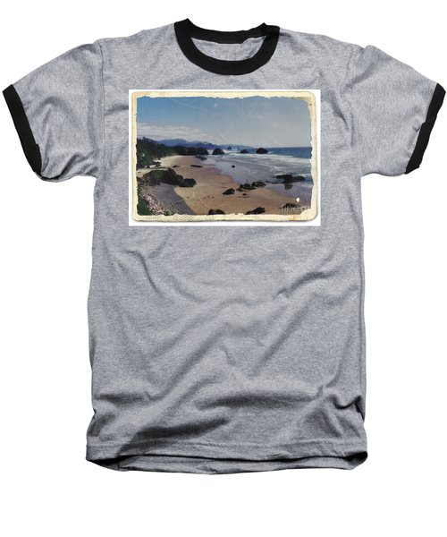 Ecola 1 Baseball T-Shirt by Chalet Roome-Rigdon