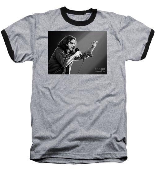 Eddie Vedder  Baseball T-Shirt by Meijering Manupix