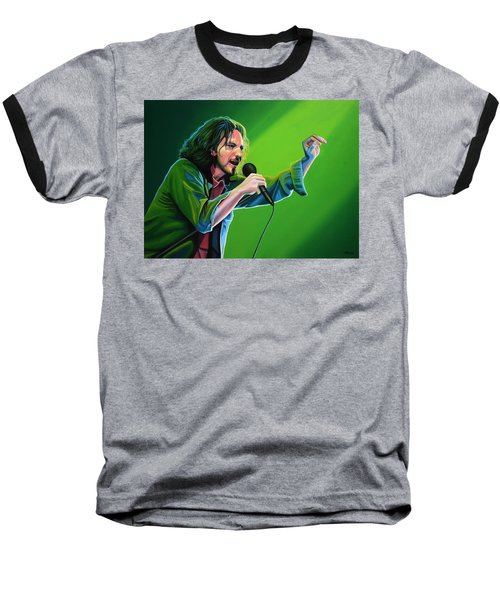 Eddie Vedder Of Pearl Jam Baseball T-Shirt