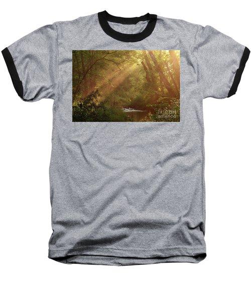 Eden...maybe. Baseball T-Shirt by Douglas Stucky