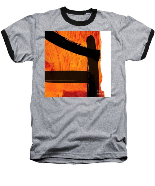 Baseball T-Shirt featuring the painting Edge IIi by Paul Davenport