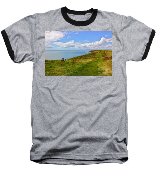 Edge Of The World Baseball T-Shirt