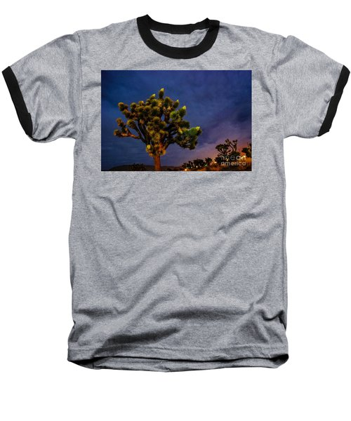 Baseball T-Shirt featuring the photograph Edge Of Town by Angela J Wright