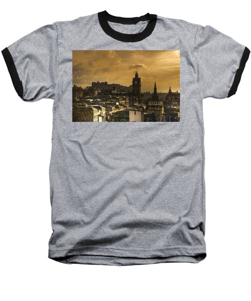 Edinburgh Dusk Baseball T-Shirt