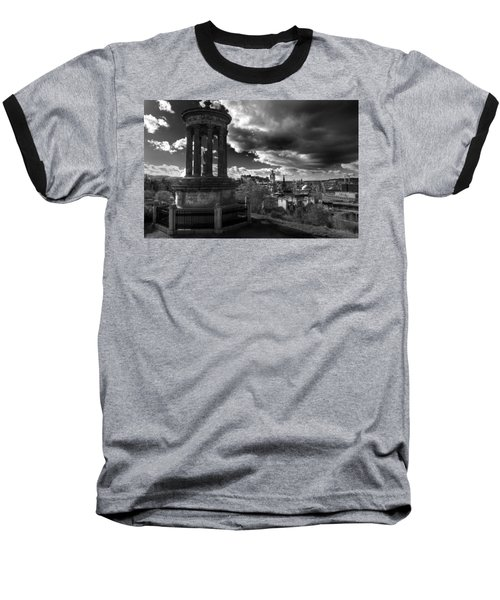 Edinburgh From Calton Hill Baseball T-Shirt