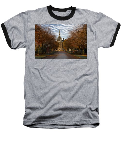 Edinburgh's Fettes College Baseball T-Shirt