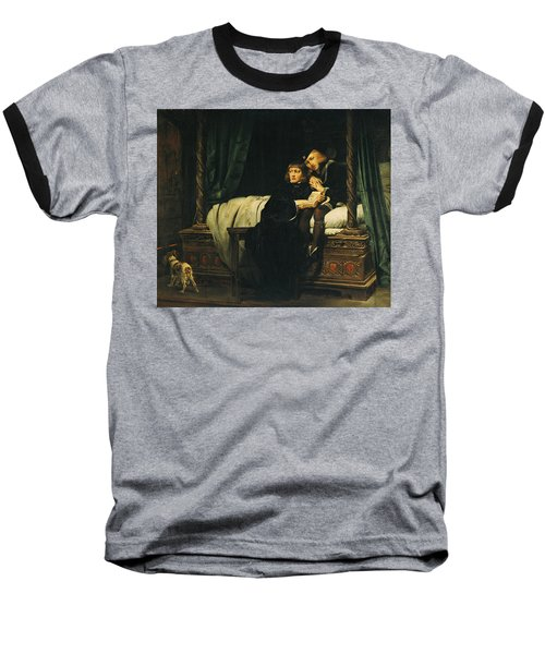 Edward V 1470-83 And Richard, Duke Of York In The Tower Les Enfants Dedouard 1830 Oil On Canvas See Baseball T-Shirt by Hippolyte Delaroche