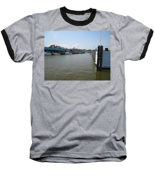 Baseball T-Shirt featuring the photograph Ego Alley by Charles Kraus