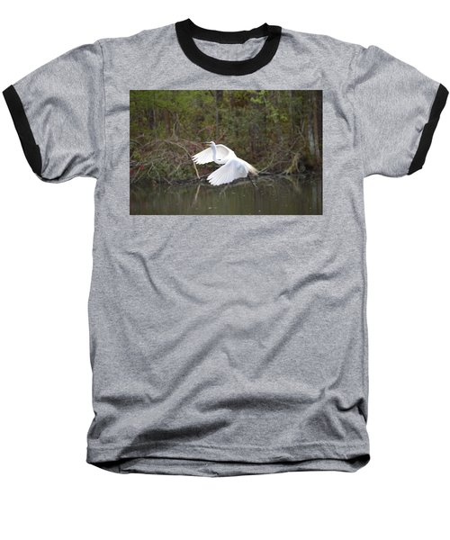 Over The Lagoon Baseball T-Shirt