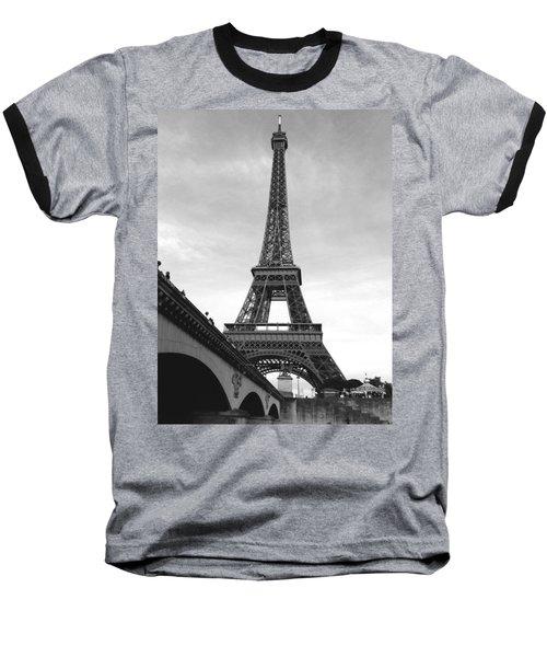 Eiffel Classic Baseball T-Shirt