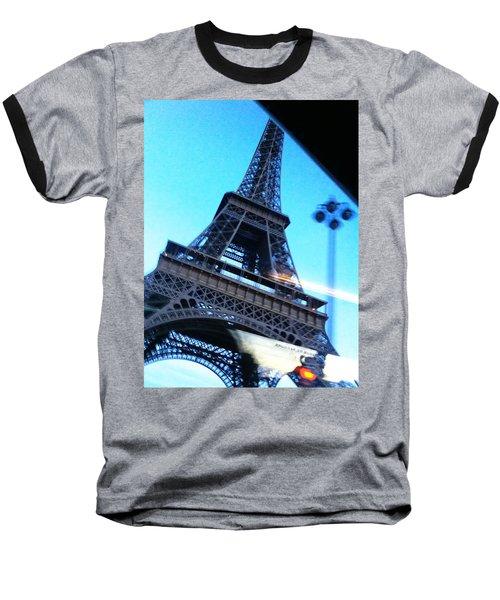 Eiffel In Motion Baseball T-Shirt