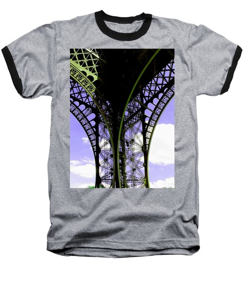 Eiffel Lace Baseball T-Shirt