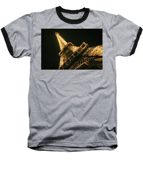 Baseball T-Shirt featuring the photograph Eiffel by Silvia Bruno