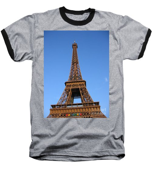 Eiffel Tower 2005 Ville Candidate Baseball T-Shirt