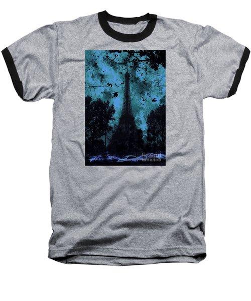 Eiffel Tower Baseball T-Shirt