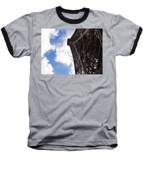 Baseball T-Shirt featuring the photograph Eiffel Tower by Tiffany Erdman