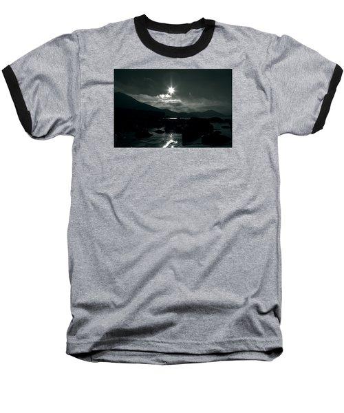 Eight Pointed Star  Baseball T-Shirt by Aidan Moran